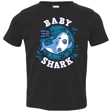 Shark Family trazo - Baby Boy chupete Toddler Premium T-Shirt