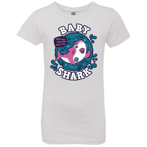 Shark Family trazo - Baby Girl chupete Girls Premium T-Shirt