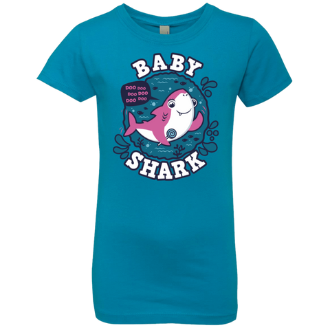 Shark Family trazo - Baby Girl Girls Premium T-Shirt