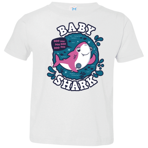 Shark Family trazo - Baby Girl Toddler Premium T-Shirt