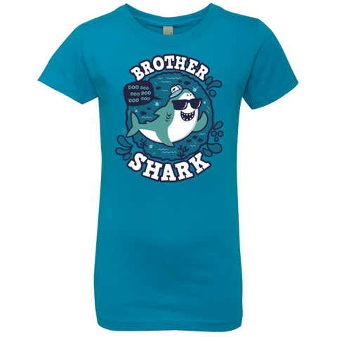 Shark Family trazo - Brother Girls Premium T-Shirt