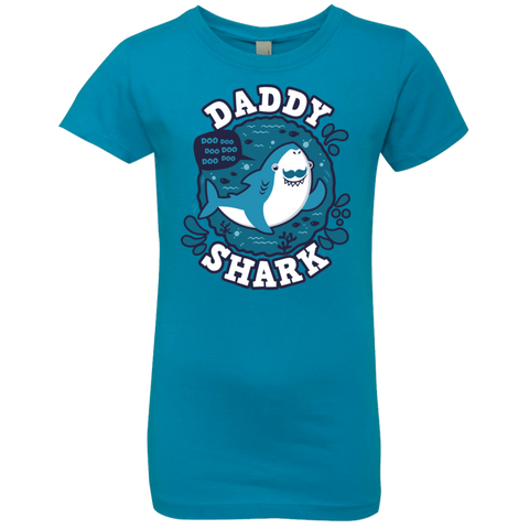 Shark Family trazo - Daddy Girls Premium T-Shirt