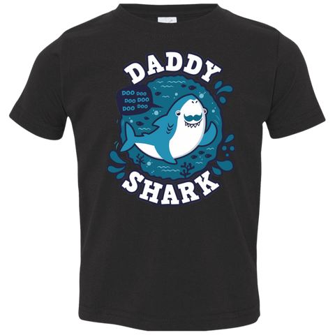 Shark Family trazo - Daddy Toddler Premium T-Shirt