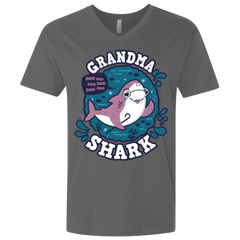 Shark Family trazo - Grandma Men's Premium V-Neck