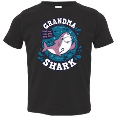 Shark Family trazo - Grandma Toddler Premium T-Shirt