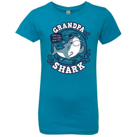 Shark Family trazo - Grandpa Girls Premium T-Shirt