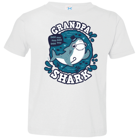 Shark Family trazo - Grandpa Toddler Premium T-Shirt