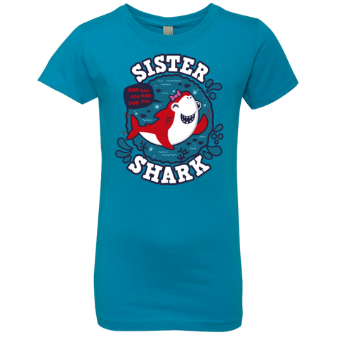 Shark Family trazo - Sister Girls Premium T-Shirt