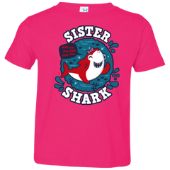 Shark Family trazo - Sister Toddler Premium T-Shirt