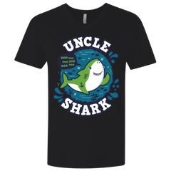 Shark Family trazo - Uncle Men's Premium V-Neck