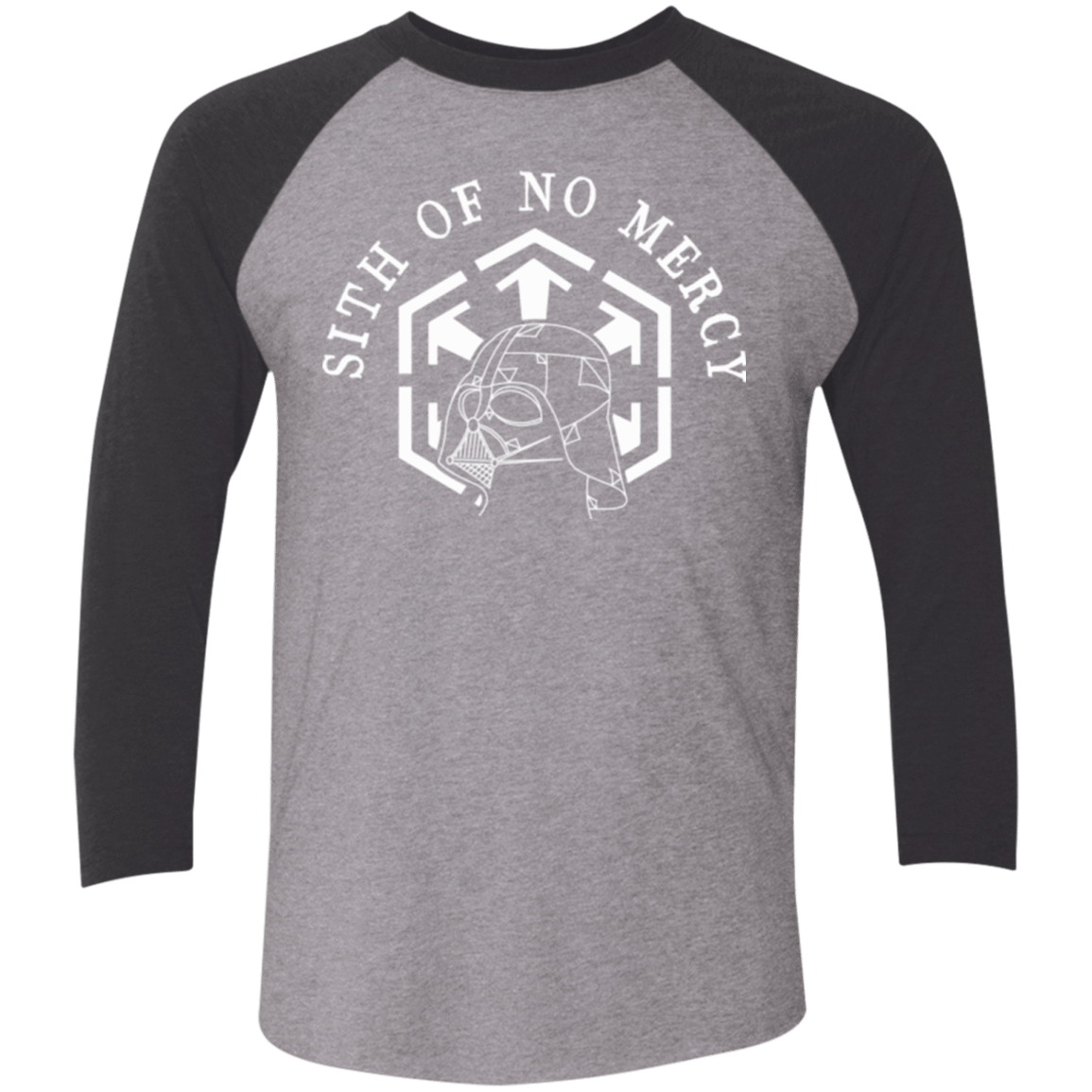 SITH OF NO MERCY Men's Triblend 3/4 Sleeve