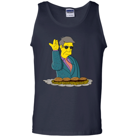 T-Shirts Navy / S Skinner Bae Hams Men's Tank Top