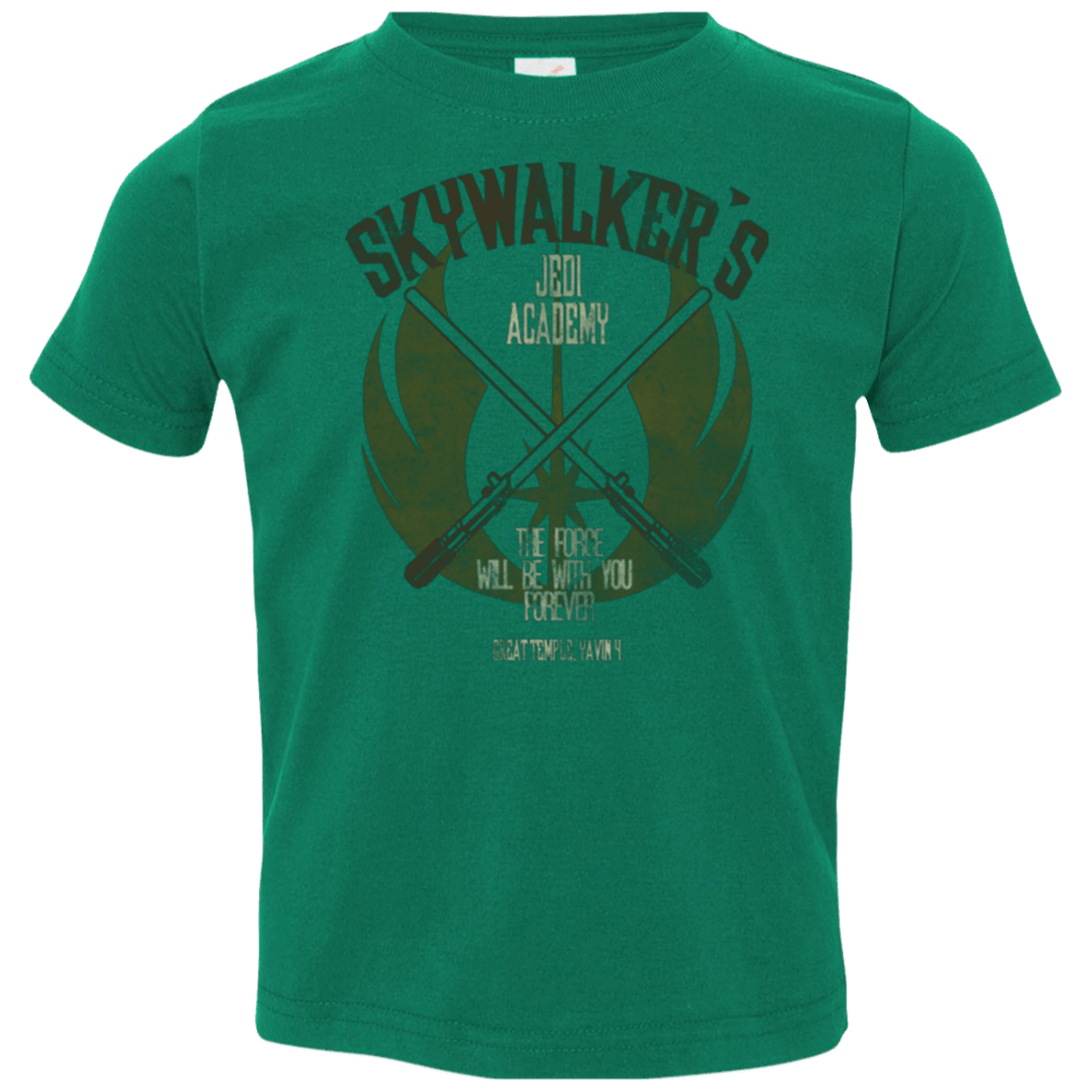 T-Shirts Kelly / 2T Skywalker's Jedi Academy Toddler Premium T-Shirt