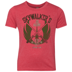 T-Shirts Vintage Red / YXS Skywalker's Jedi Academy Youth Triblend T-Shirt