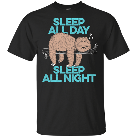 Sleep All Day All Night T-Shirt