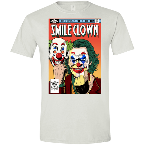 Smile Clown Men's Semi-Fitted Softstyle
