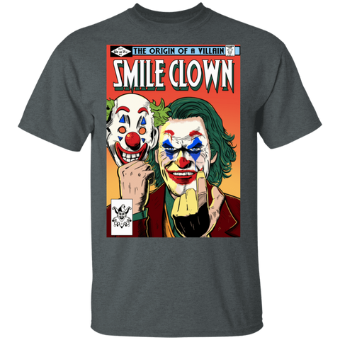 T-Shirts Dark Heather / S Smile Clown T-Shirt