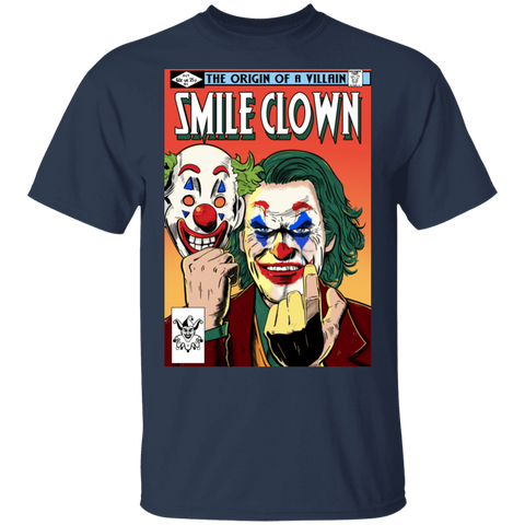 T-Shirts Navy / S Smile Clown T-Shirt