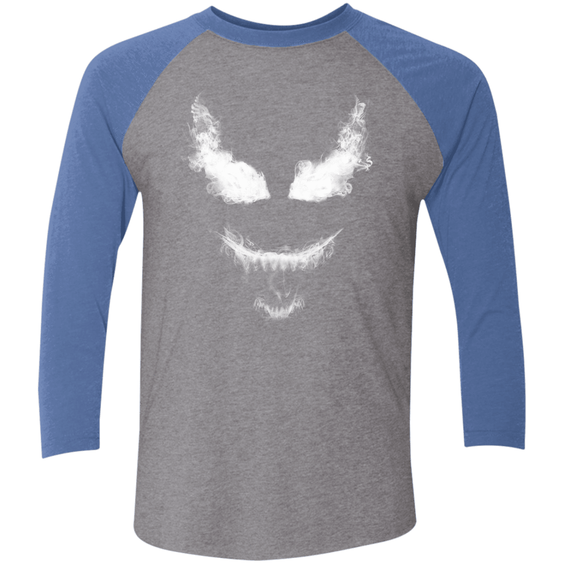 Smoke Symbiote Men's Triblend 3/4 Sleeve