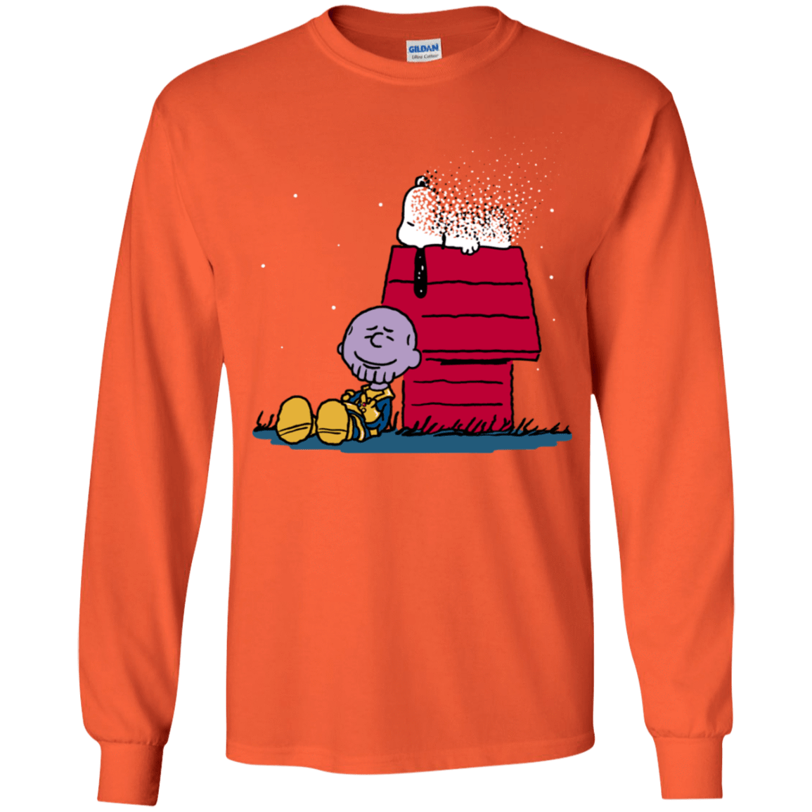 T-Shirts Orange / YS Snapy Youth Long Sleeve T-Shirt