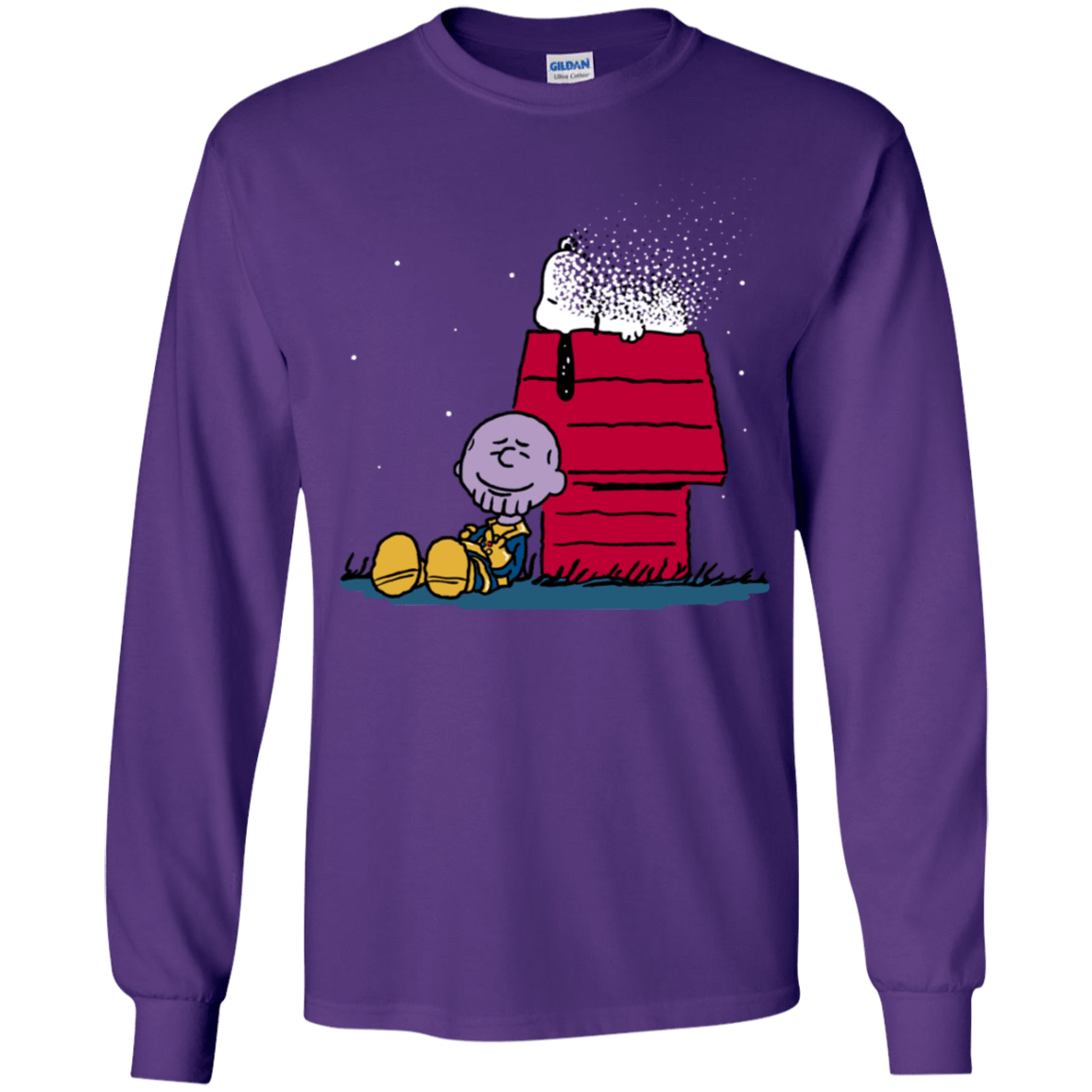 T-Shirts Purple / YS Snapy Youth Long Sleeve T-Shirt