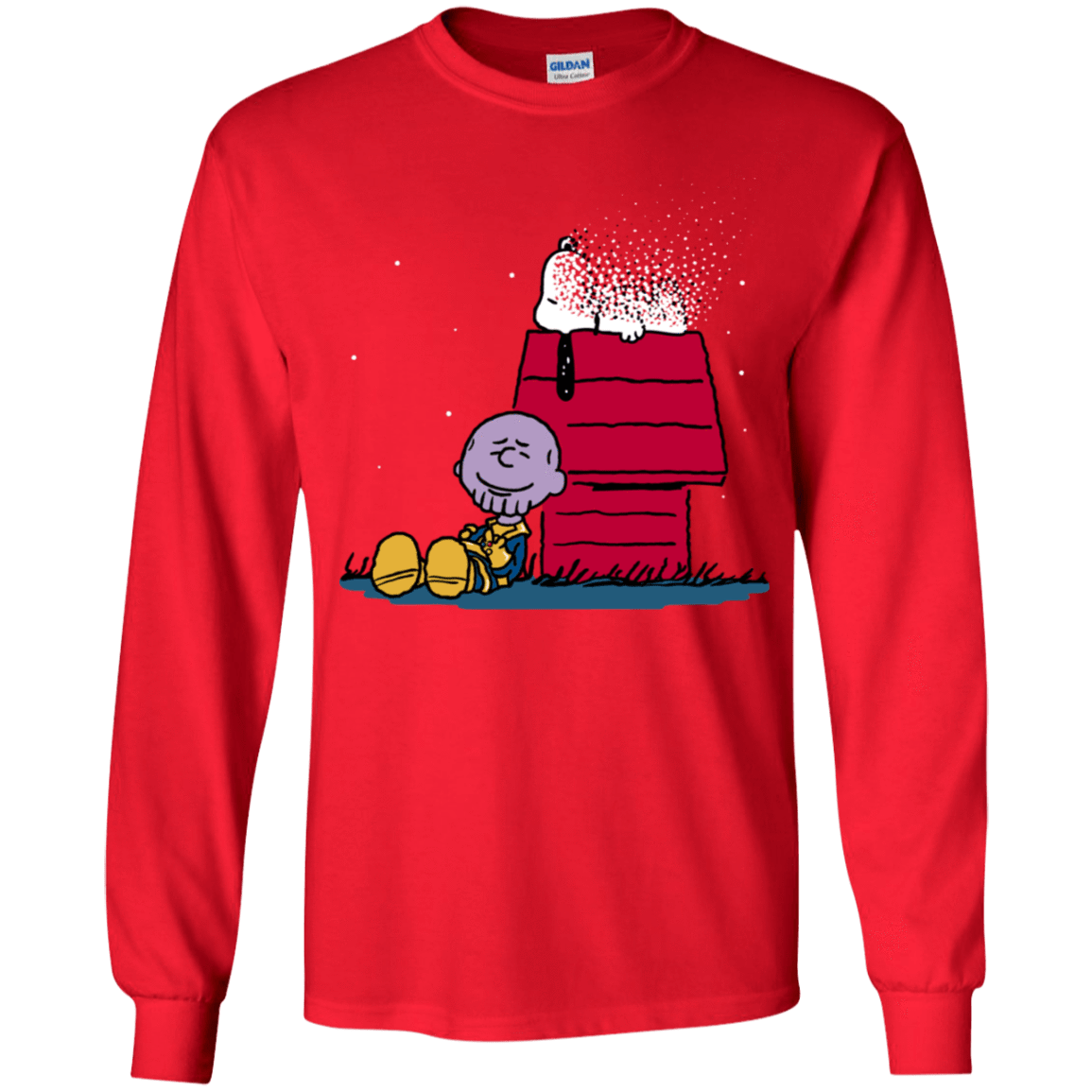 T-Shirts Red / YS Snapy Youth Long Sleeve T-Shirt