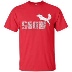 T-Shirts Red / Small Snow T-Shirt
