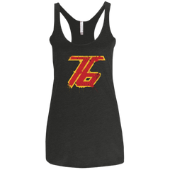 T-Shirts Vintage Black / X-Small Soldier 76 Women's Triblend Racerback Tank