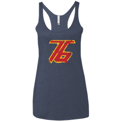 T-Shirts Vintage Navy / X-Small Soldier 76 Women's Triblend Racerback Tank