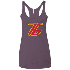 T-Shirts Vintage Purple / X-Small Soldier 76 Women's Triblend Racerback Tank