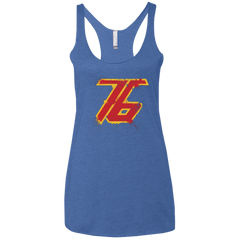 T-Shirts Vintage Royal / X-Small Soldier 76 Women's Triblend Racerback Tank