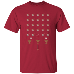 Space NI Invaders T-Shirt