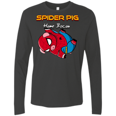 T-Shirts Heavy Metal / Small Spider Pig Hanging Men's Premium Long Sleeve