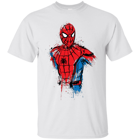 T-Shirts White / S Spiderman- Friendly Neighborhood T-Shirt