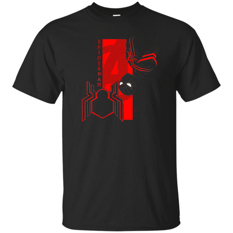 T-Shirts Black / S Spiderman Profile T-Shirt