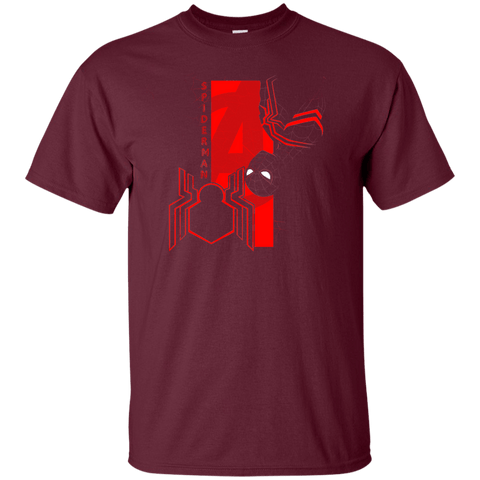 T-Shirts Maroon / S Spiderman Profile T-Shirt