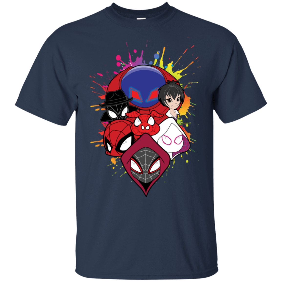 T-Shirts Navy / S Spiderverse T-Shirt