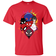 T-Shirts Red / S Spiderverse T-Shirt