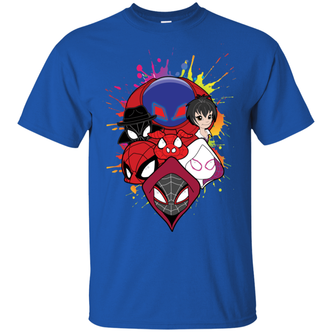 T-Shirts Royal / S Spiderverse T-Shirt