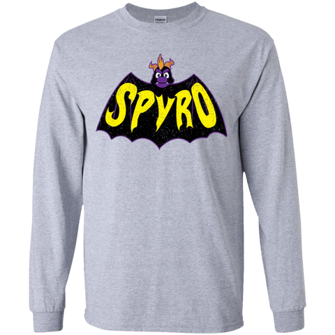 T-Shirts Sport Grey / YS Spyro Youth Long Sleeve T-Shirt