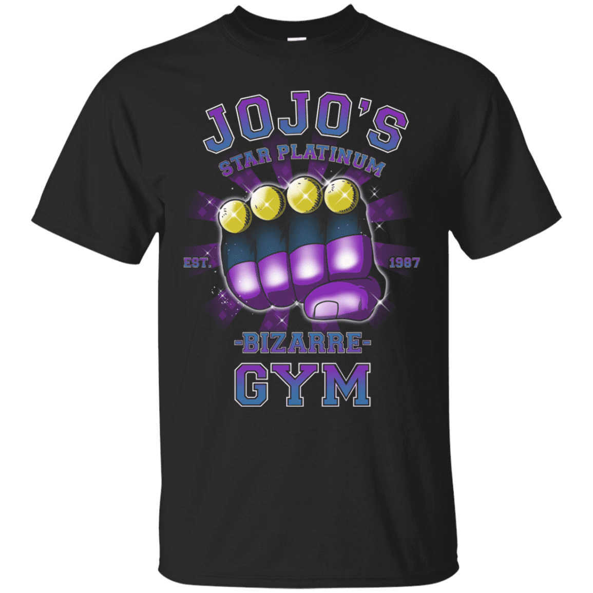 Star Platinum Gym T-Shirt