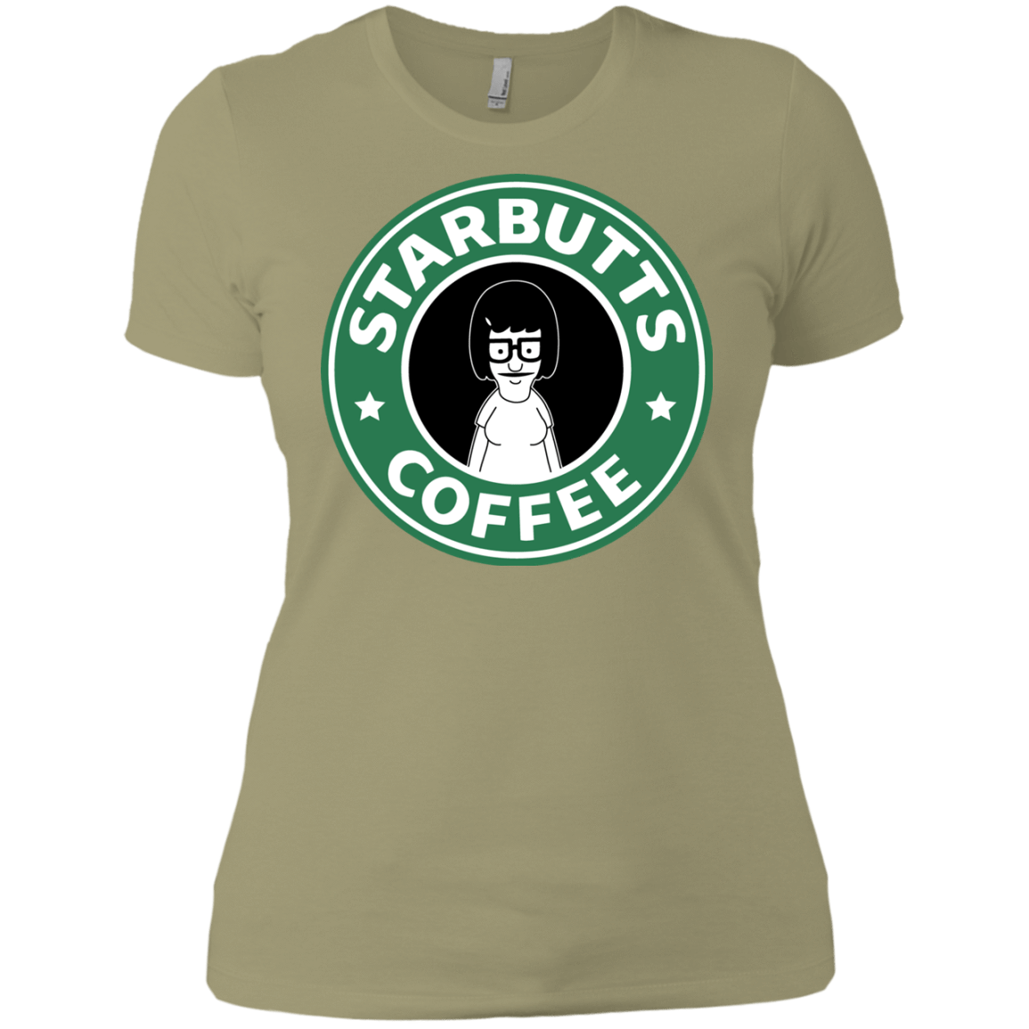 T-Shirts Light Olive / X-Small Starbutts Women's Premium T-Shirt