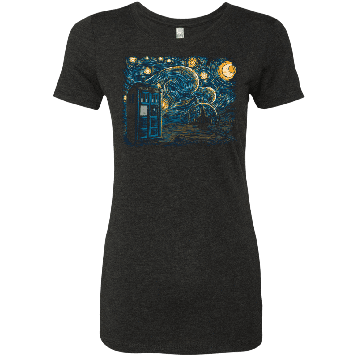 Starry Gallifrey Women's Triblend T-Shirt