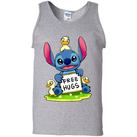 Stitch Hug Men's Tank Top