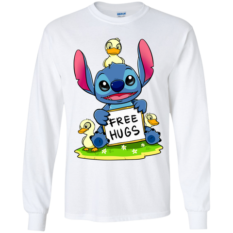 Stitch Hug Youth Long Sleeve T-Shirt