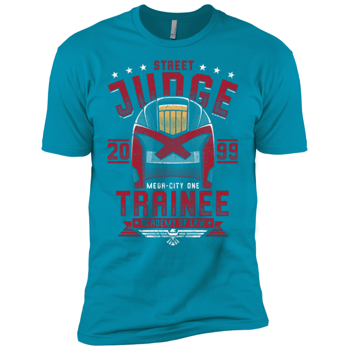 T-Shirts Turquoise / YXS Street Judge Boys Premium T-Shirt