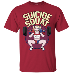 T-Shirts Cardinal / Small Suicide Squat T-Shirt