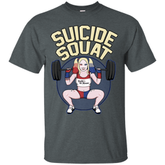 T-Shirts Dark Heather / Small Suicide Squat T-Shirt