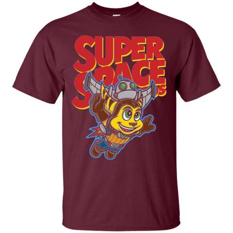 T-Shirts Maroon / Small Super Space Bros T-Shirt