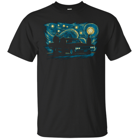T-Shirts Black / Small Supernatural Night T-Shirt